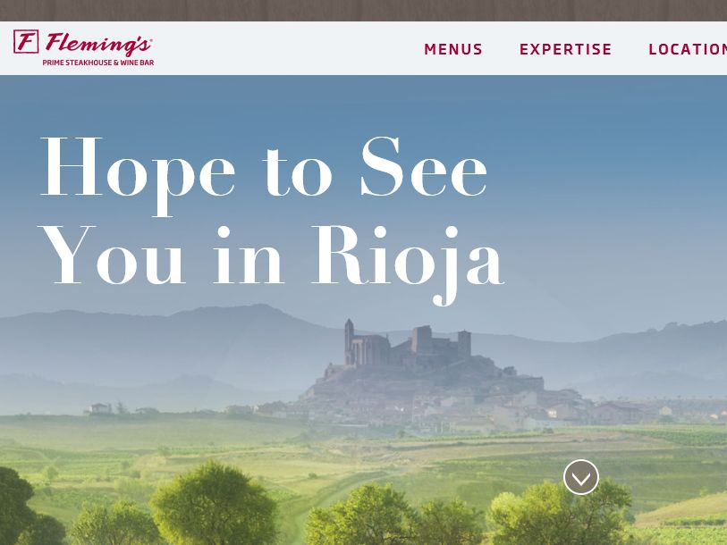 "The Fleming's Prime Steakhouse & Wine Bar ""Rioja Spain"" Sweepstakes"