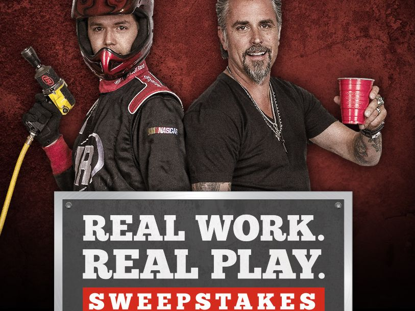 The Ingersoll Rand Real Work Real Play Sweepstakes
