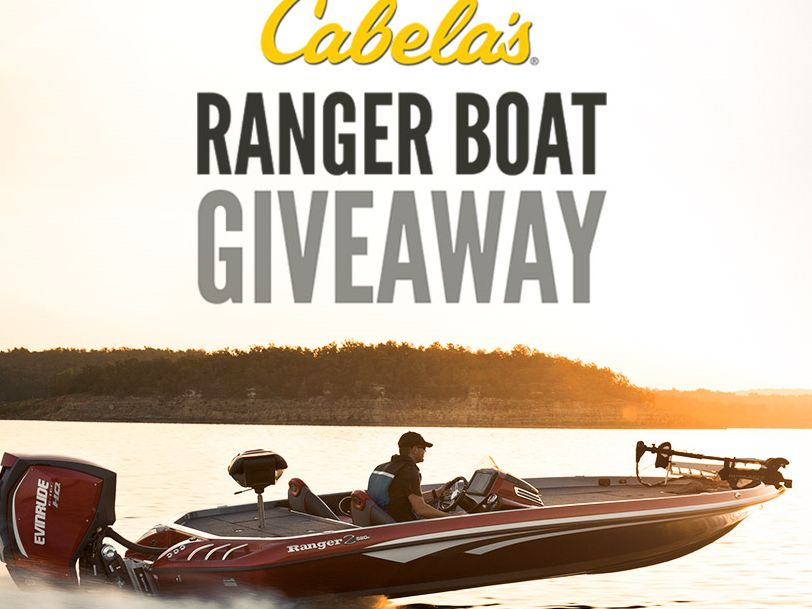 Cabela's Ranger Boat Giveaway Sweepstakes