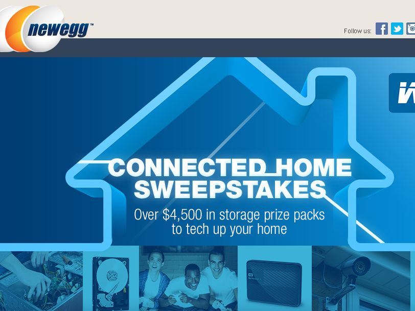 The Newegg Connected Home Sweepstakes