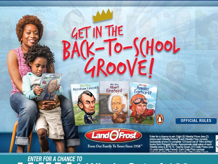 """The Land O'Frost """"Kids'  Summer Reading"""" Promotion"""