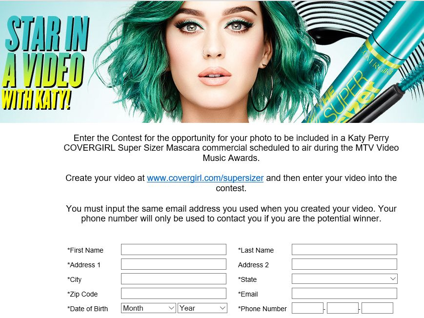 """The COVERGIRL """"Lash Fame"""" Contest"""