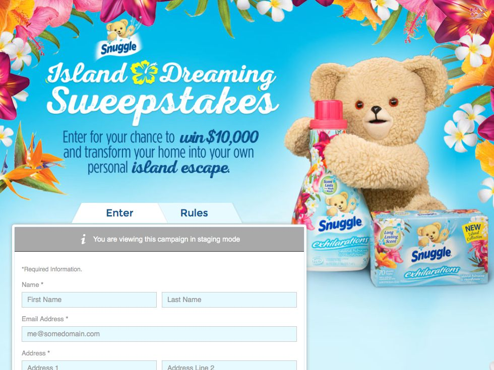 HGTV Island Dreaming Sweepstakes