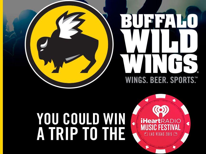 Buffalo Wild Wings iHeartRadio Music Festival VIP Fly-Away Sweepstakes