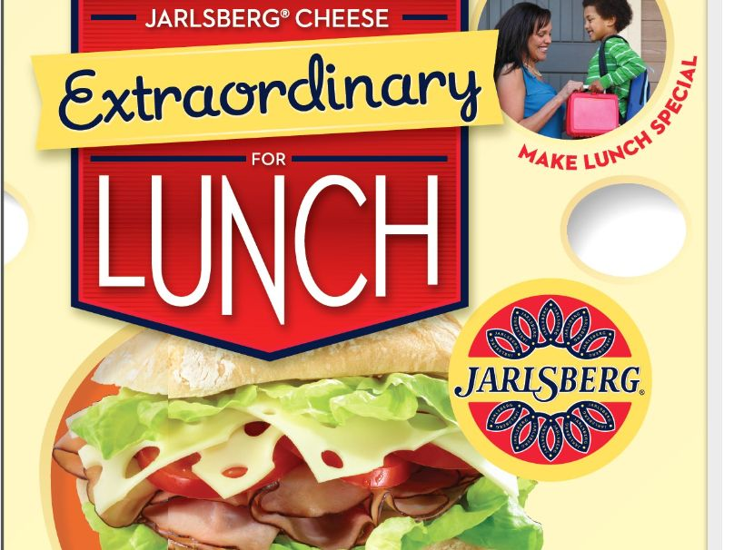 Jarlsberg Cheese Extraordinary for Lunch/Back To School Contest.