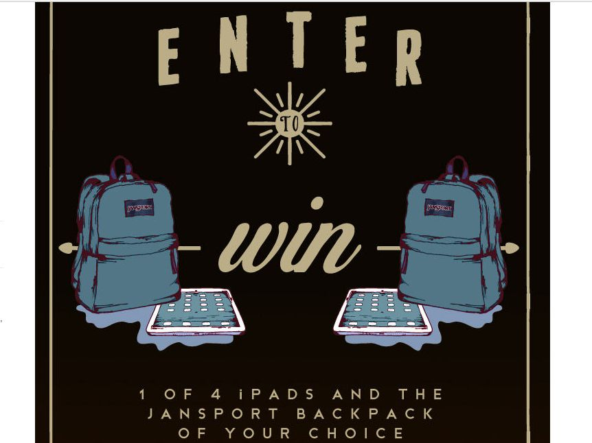 Tilly's Win An iPad & A JanSport Of Your Choice Sweepstakes