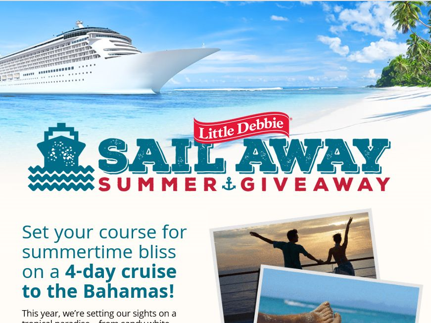 """The Little Debbie """"Sail Away Summer"""" Giveaway"""