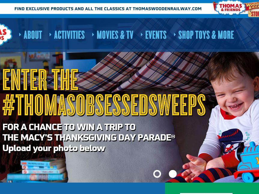 #ThomasObsessed Sweepstakes
