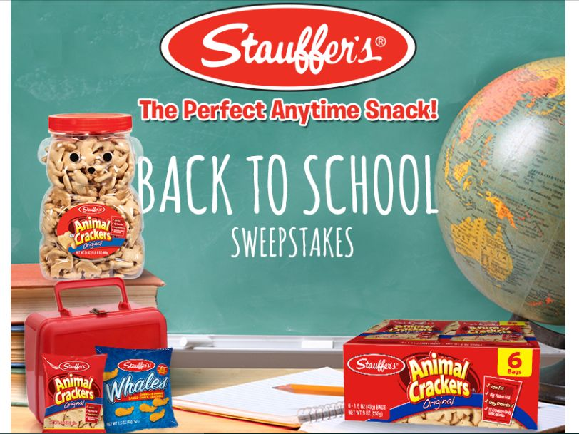Stauffer's Back to School Sweepstakes