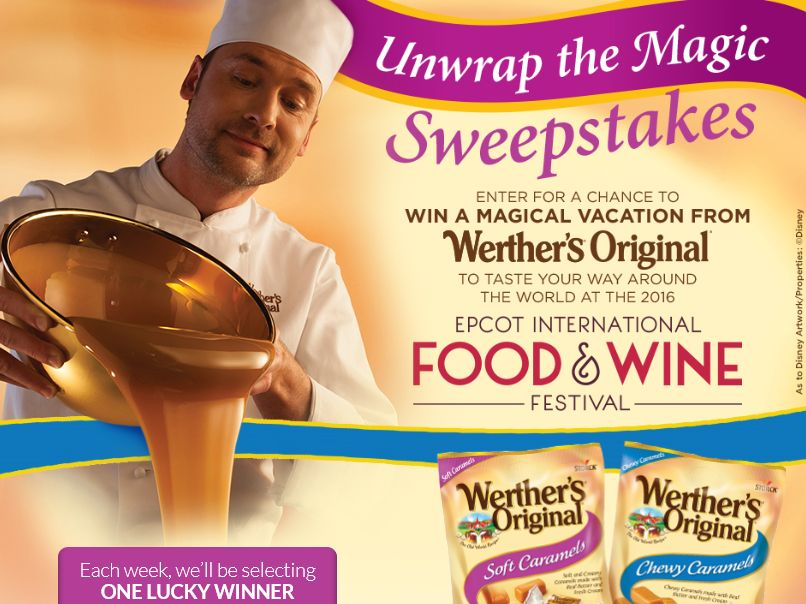 Werther's Original Unwrap the Magic Sweepstakes