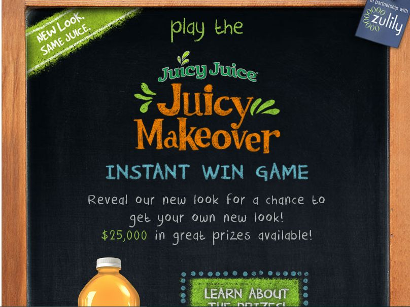 The Juicy Makeover Promotion