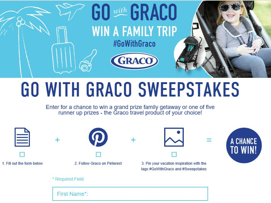 The Go With Graco Sweepstakes
