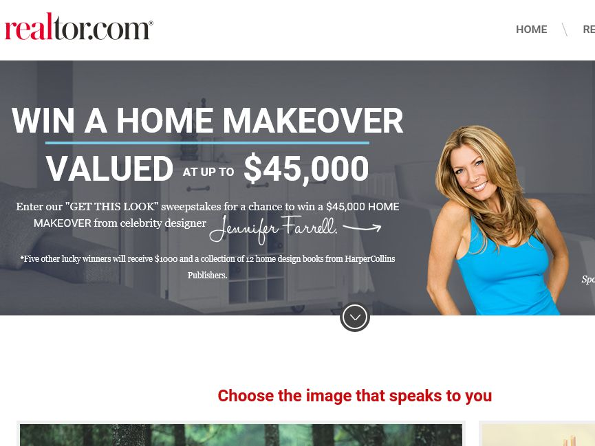 The realtor.com Get This Look Sweepstakes