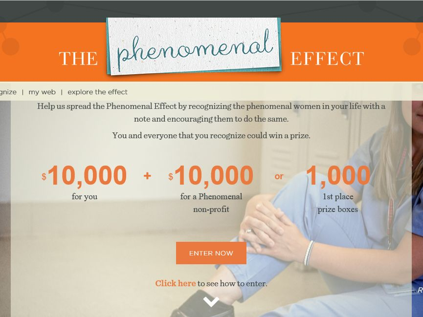 The Lean Cuisine Phenomenal Effect  Sweepstakes