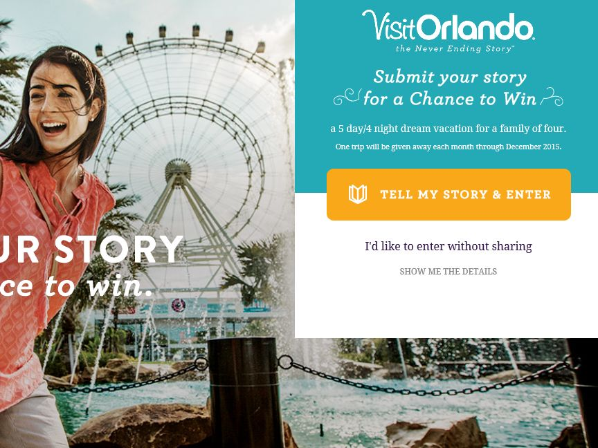 The Orlando Stores Sweepstakes