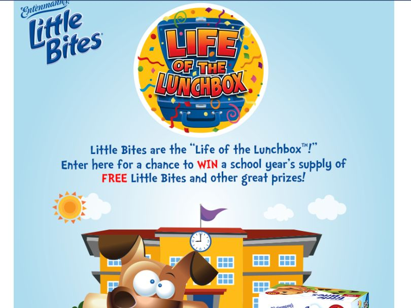 The Little Bites Life of the Lunchbox Sweepstakes