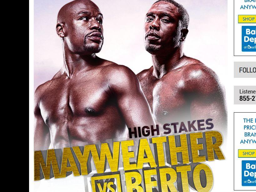 The CBS Sports Mayweather vs. Berto Sweepstakes