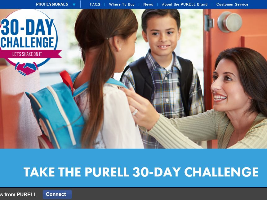 The PURELL 30-Day Challenge Sweepstakes