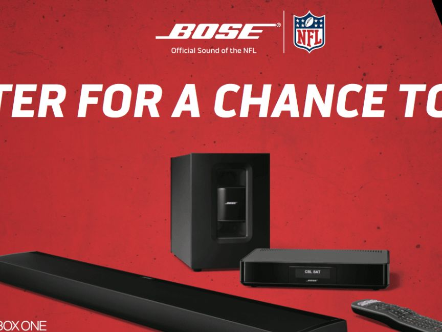The Bose CineMate Xbox Sweepstakes