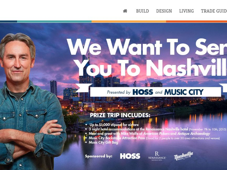 HOSS and Music City Nashville Sweepstakes