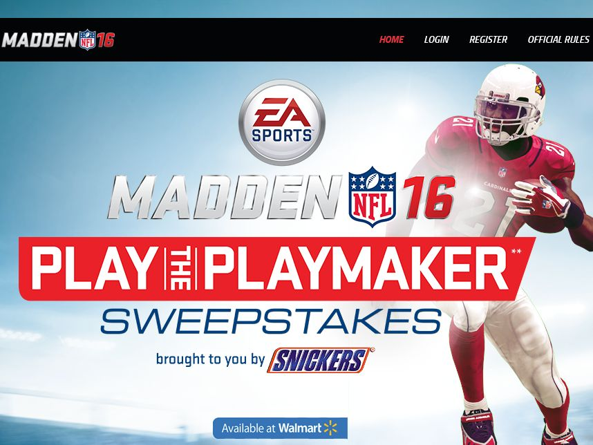 Play the Playmaker.com Sweepstakes