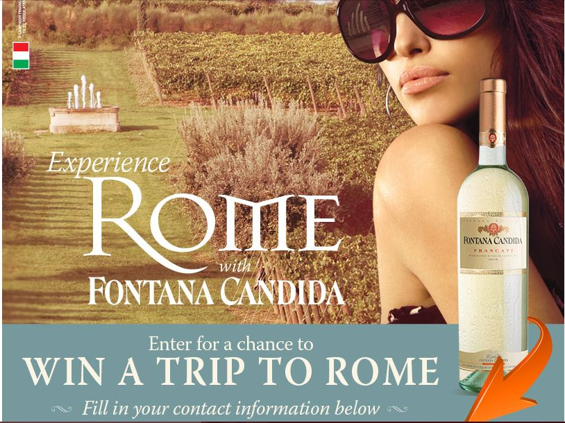 "The ""Fontana Candida Experience Rome"" Sweepstakes"