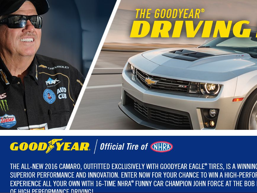 The Goodyear Driving Force Sweepstakes