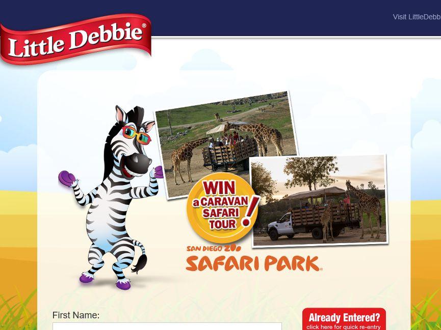 Little Debbie Zebra Cakes Promotion