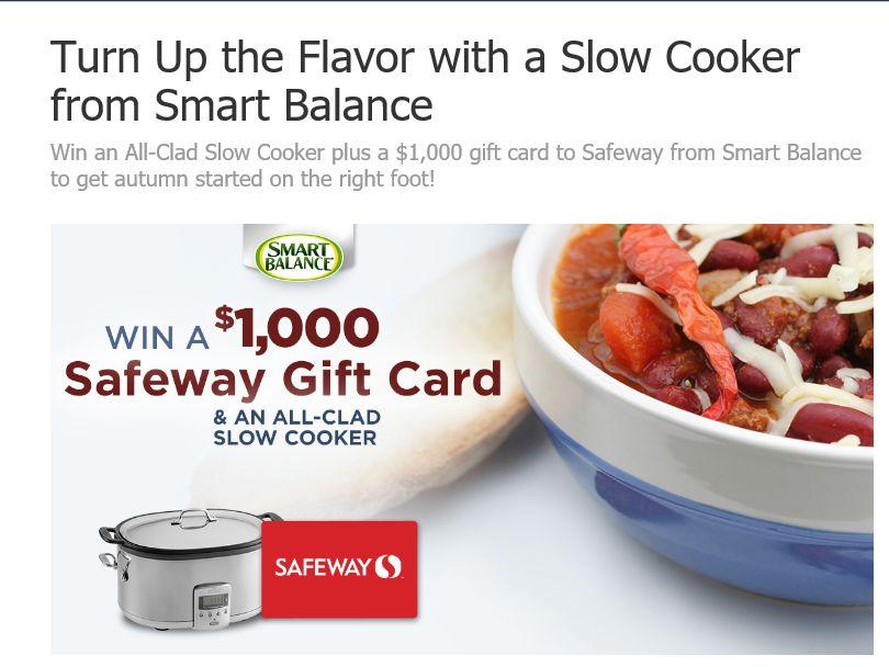 The Smart Balance Promotion
