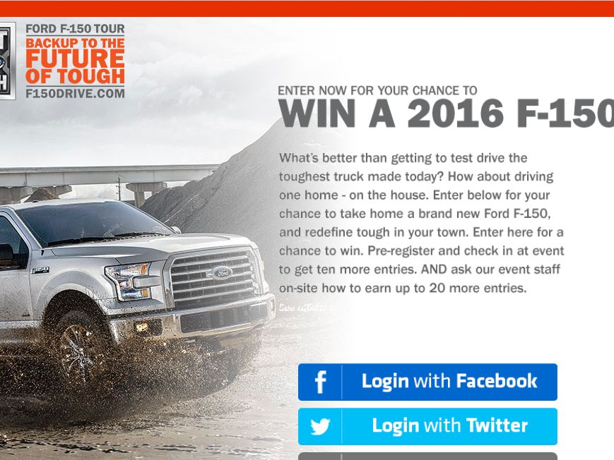 The Ford Backup to the Future of Tough Sweepstakes