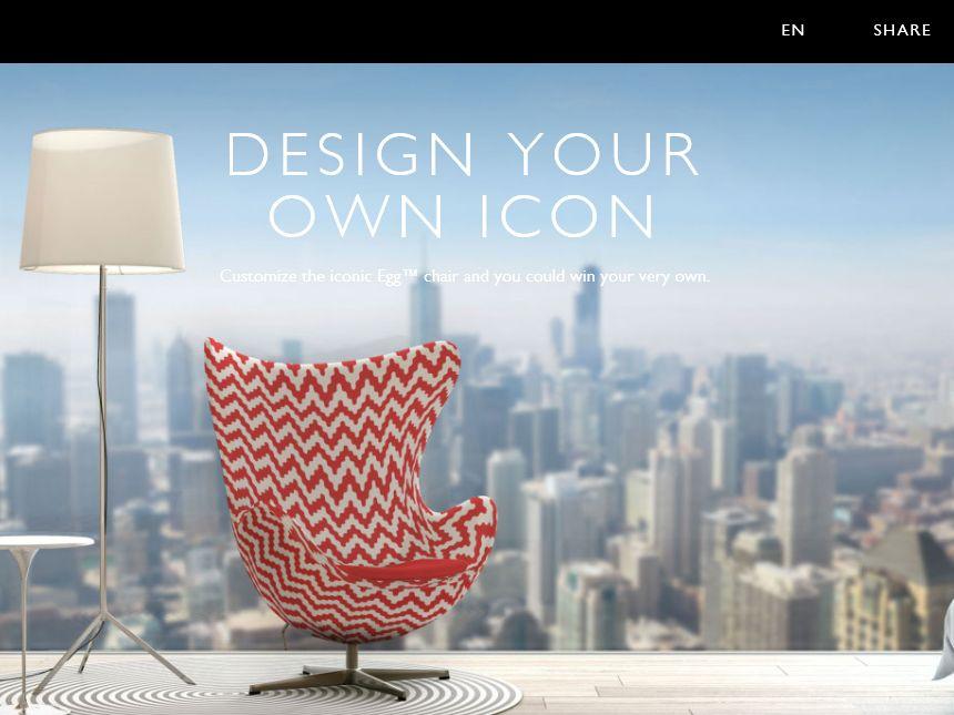 The Radisson Blu Egg Chair Design Contest