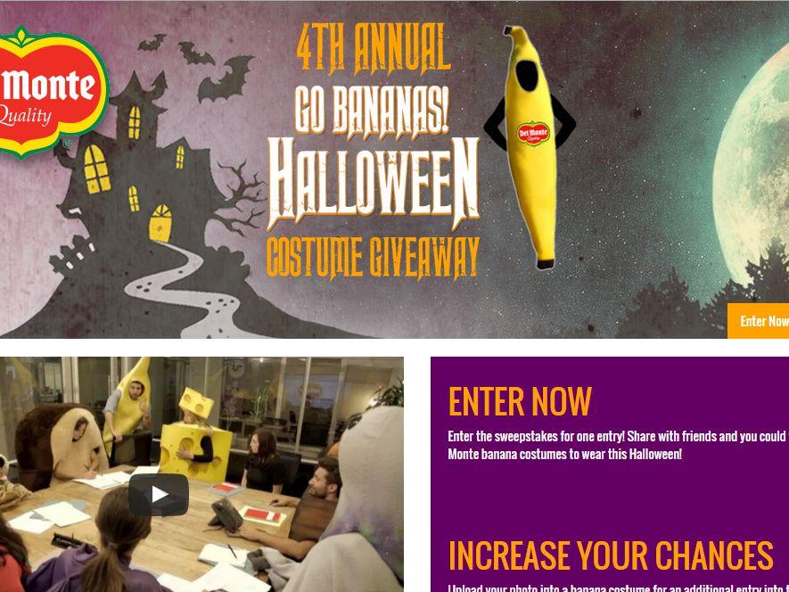 Del Monte Halloween Contest