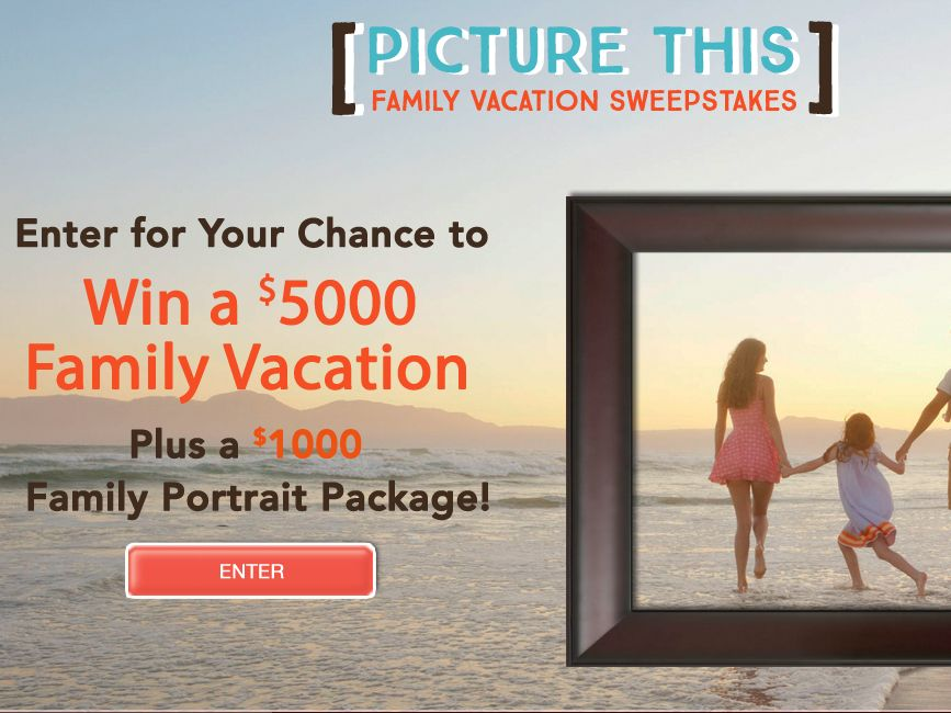 The Picture This Family Vacation Sweepstakes