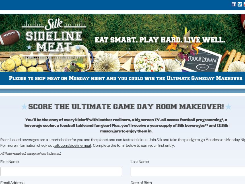 The Silk Sideline Meat Sweepstakes