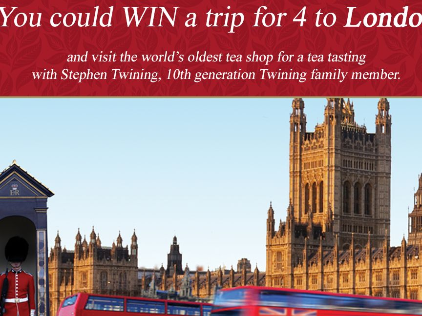 The Twinings of London Sweepstakes