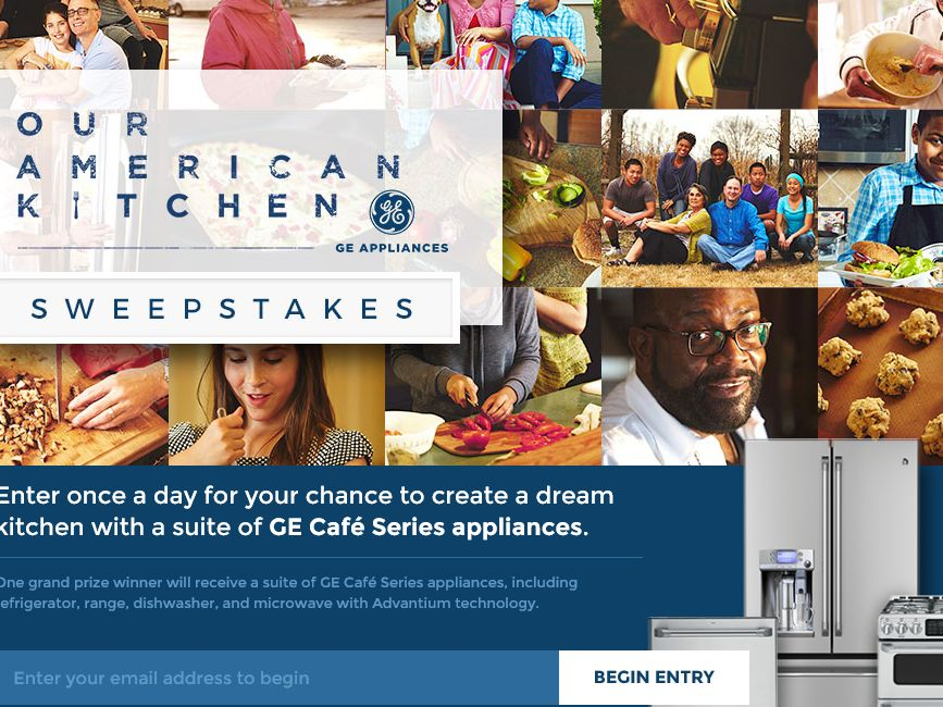 The Food Network Our American Kitchen Sweepstakes