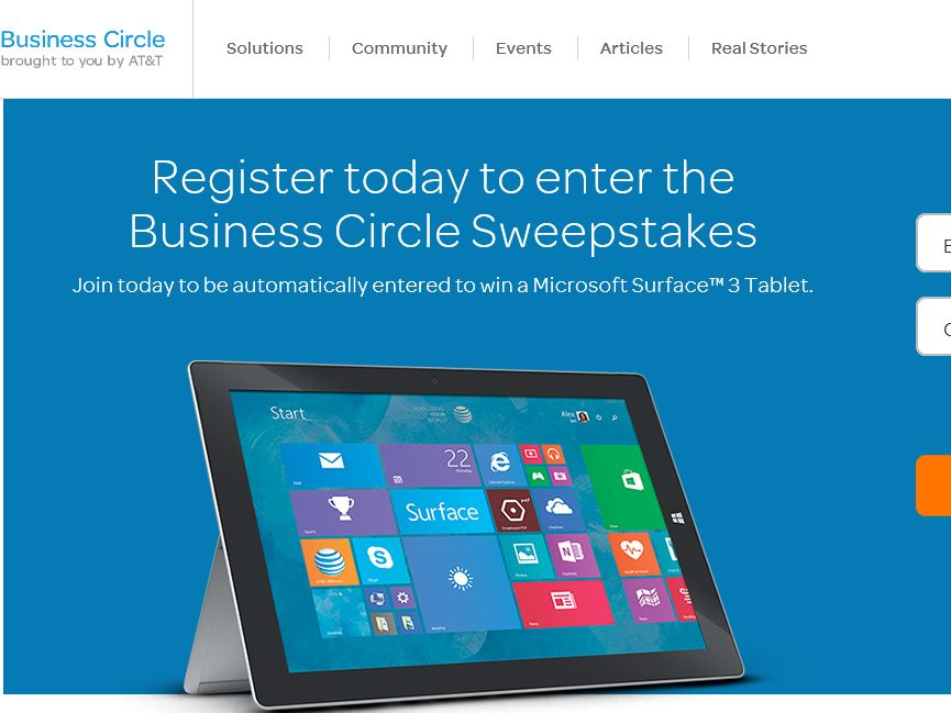 AT&T Business Circle Sweepstakes