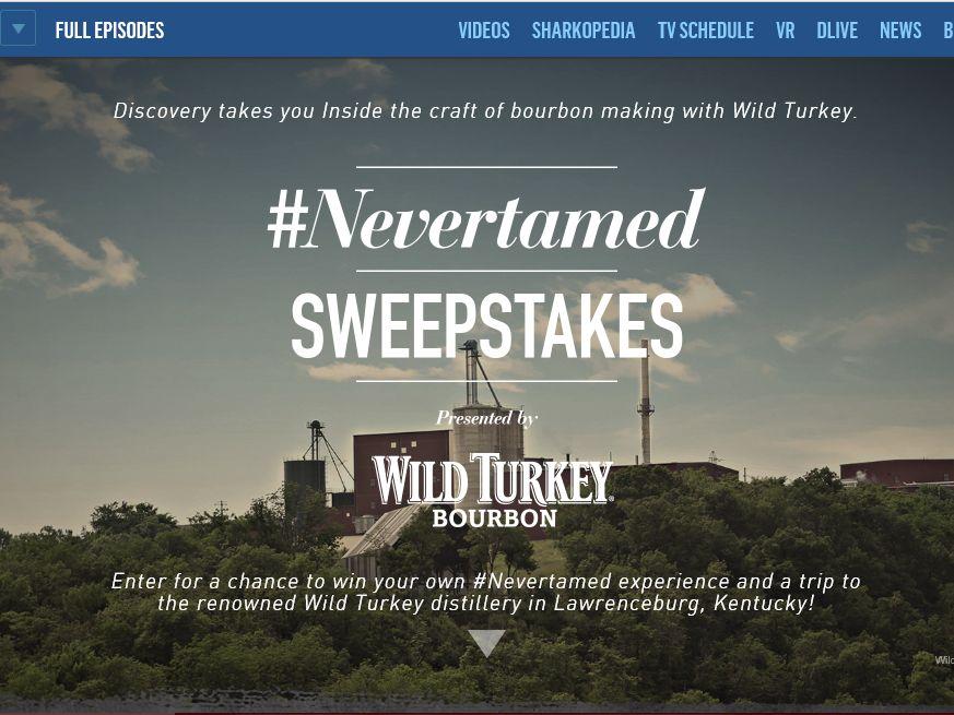 The Wild Turkey #NeverTamed Sweepstakes