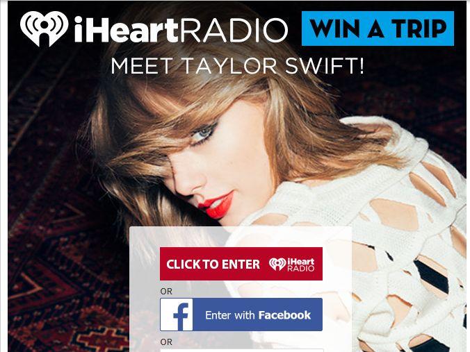 iHeartRadio Taylor Swift Wildest Halloween Ever Sweepstakes
