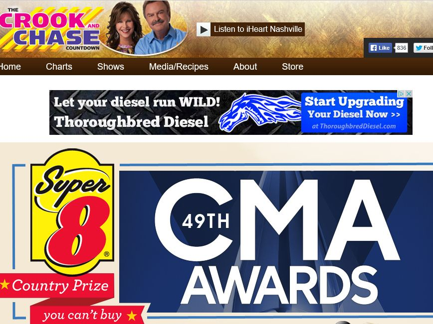 The Crook & Chase 49th Annual CMA Awards Country Prize You Can't Buy Sweepstakes