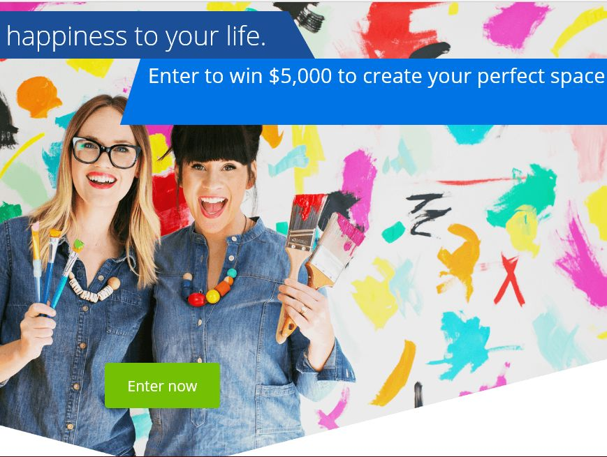"Zillow Digs and a Beautiful Mess ""A Homemade Home"" Sweepstakes"