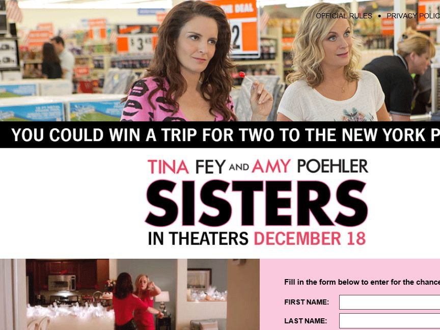 Marie Claire Sisters Premiere Trip Sweepstakes
