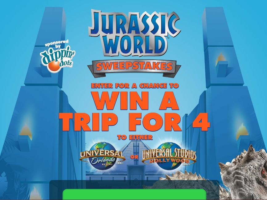 The Dippin' Dots Jurassic World Contest