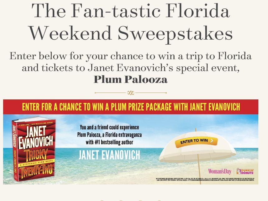 The Random House Fan-tastic Florida Weekend Sweepstakes
