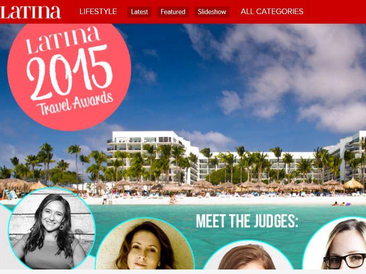 "Latina's ""Latina Travel Awards Dream Vacation Giveaway"" Sweepstakes"