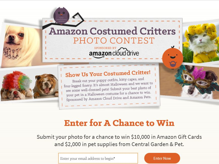The Amazon Costumed Critters Photo Contest
