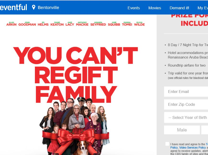 The Love the Coopers Sweepstakes