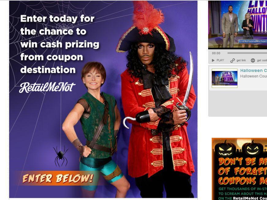 LIVE's Halloween Countdown Trivia Sweepstakes