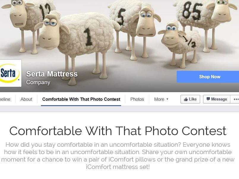 The Serta Comfortable With That Contest