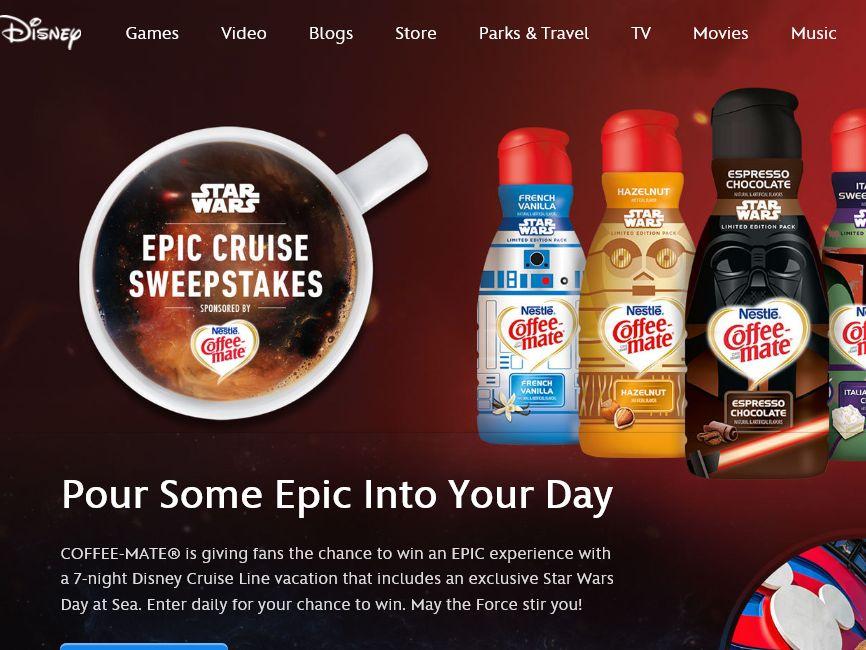 Disney's Epic Cruise Sweepstakes